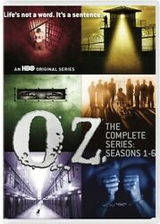 Oz The Complete Series Seasons 1-6 [new Dvd] Boxed Set