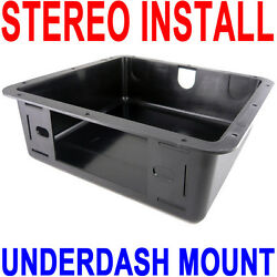Under Dash Mounting kit Car Stereo Single Din Overhead Install Universal Radio