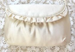 ~  DESIGNER MORRIS MOSKOWITZ CLUTCH BAG PURSE STRAP NEW FROM SAKS FIFTH AVENUE ~