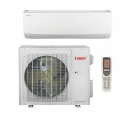 Tosot Single Zone 12000 BTU Ductless Mini Split Air Conditioner with Remote