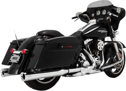 Vance & Hines Chrome Eliminator 400 Exhaust Mufflers for 96-16 Harley Touring