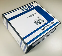 Ford 6600c 6600-o 7600c Tractor Ag Industrial Parts Manual Catalog