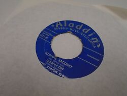 Illinois Jacquet Flying Home Pt. I And Ii / Goofin/blow 45 Rpm Aladdin Records Vg-