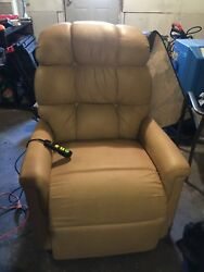 Golden Power Lift And Recline Leather Chair
