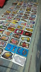 Garbage Pail Kids and Wacky Packages Card Lot  Years 2004-2006