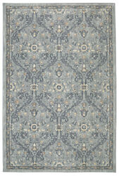 Karastan Gray Transitional Casual Bulbs Petals Area Rug Floral 90647 90075