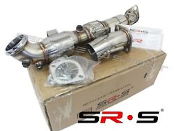 Srs Downpipe For 2013-2018 Ford Focus St 2.0l 3 Catted Ecoboost Turbo Pipe