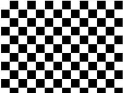 3 Rolls Checkered Black White Tile Self Adhesive Decorative Wall Contact Paper