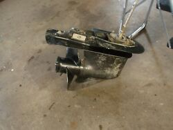 Mercury 60 Hp Outboard Complete Lower Unit With Prop