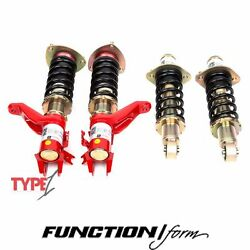 Function And Form Type 1 Coilovers Fits Civic Ep3 F2-ep3t1
