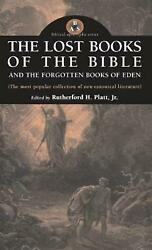 Lost Books Of The Bible And The Forgotten Books Of Eden English Hardcover Book