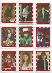 2018 Stranger Things Season 1 Complete Scene Stickers 10 Chase Card Set