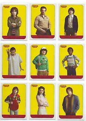 2018 Stranger Things Season 1 Complete Character Stickers 20 Chase Card Set