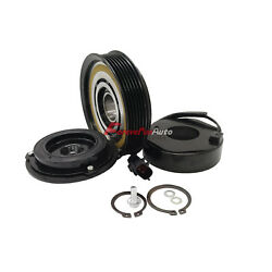 A/c Ac Compressor Clutch Kit Pulley Coil Plate For Jeep Cherokee Wrangler Tj 4.0