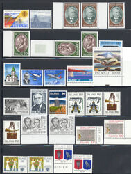Iceland 1977-1986 Singles Sets Souvenir Sheets Stamp Collection Mnh 448.50+