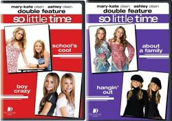 Mary Kate and Ashley Olsen So Little Time Complete TV Series NEW DVD BUNDLE SET $44.90