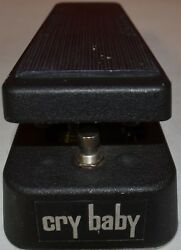 Dunlop GCB95 Cry Baby ~USED~Original Wah Guitar Effects Pedal Footswitch