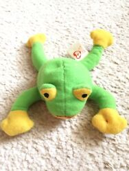 Ty Beanie Baby Smoochy The Frog - Rare Great Condition. Ships Free.