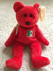 TY Osito Bear Beanie Baby RARE Great Condition with TAG Protector