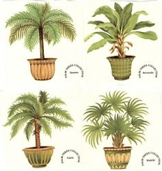 Potted Palm Tree Plants Select-a-size Waterslide Ceramic Decals Xx