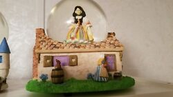 4 Rare Vintage Heroines Of The Fairy Tale Forest Musical Snow Globes Collection