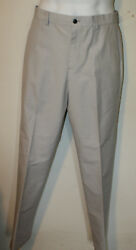 Brooks Brothers Taupe Brown White Stripe Chinos Nwt 32 X 34 Clark Fit