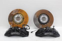 2018 Bentley Bentayga Front Left Right Brake Caliper And 400mm Disc Kit 36a615107