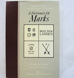 Dictionary Of Marks Antique Collectors' Guides Hardback Book The Fast Free