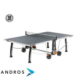 CORNILLEAU SPORT 300S CROSSOVER OUTDOOR - Tennis table Grey