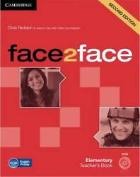 Face2face Elementary Teacherand039s Book With Dvd By Chris Redston English Book And M