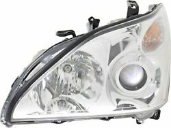 NSF Certified Left Headlamp Assembly Composite for 04-06 Lexus RX330