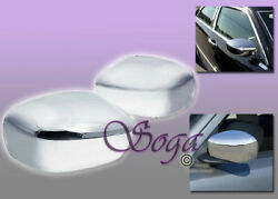 For Chrysler 300/c Dodge Charger Magnum Chrome Overlay Side Mirror Covers Cover