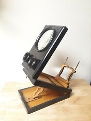 Rare Antique Victorian Stereoscope And Postcard Viewer