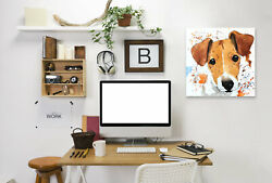 East Urban Home 'Jack Russell Terrier Puppy' Print