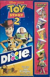 Vintage Disney Toy Story 2 Dixie Cups Box Advertising Box Folded Flat No Cups