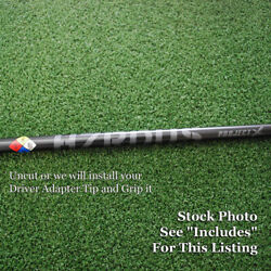 Project X Golf Hzrdus Black Driver Shaft Uncut Or W/adapter Tip And Grip - New