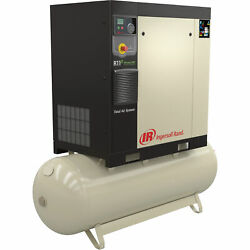 Ingersoll Rand Rotary Screw Compressor Total Air System 5 HP 230V