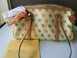 NEW Dooney and Bourke Barrel bag Purse with Original Tags and Registration Card