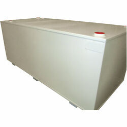 Midwest Industrial Tanks Double-Wall Fuel Storage Tank- 2000-G Cap