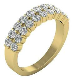 Vs1 E 2.01 Ct Natural Round Cut Diamond Engagement Ring 14k Solid Gold 5.50 Mm