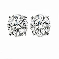 Gift Item! 1.5CT ROUND DIAMOND STUDS! YELLOW OR WHITE GOLD BEST SELL!