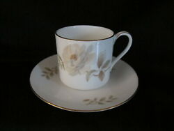 Royal Doulton Yorkshire Rose H5050 - Demitasse Cup And Saucer - Brand New