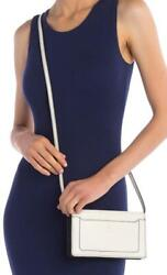 New with Tag $260 Marc Jacobs Empire City STR White Leather Crossbody Wallet $69.99