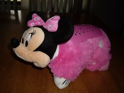 EEUC Disney Dream Lites Mini Pillow Pets Minnie Color Changing Light 11quot;