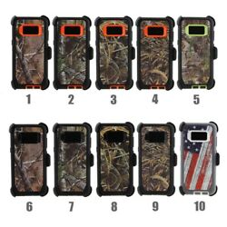 Samsung S8 Plus Note 8 Case Cover Clip Fits Otterbox Defender 3 Layer Lot