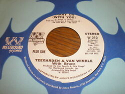 Teegarden And Van Winkle With Bruce 45 Carry On Westbound Promo