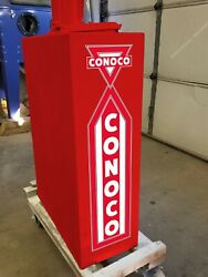 25 X 6 Conoco Gas Oil Vinyl Decal Lubester Sides Oil Pump Can Lubster