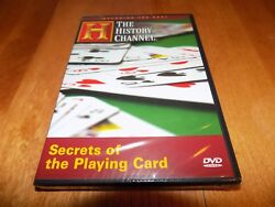 Secrets Of The Playing Card Cards Poker Deck Games Game History Channel Dvd New