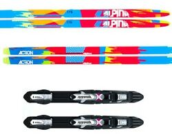 New Alpina Action Skating Skate Xc Cross Country Skis/bindings Package - 196cm