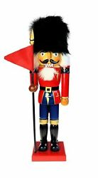 Nutcracker Wood Toy Soldier Guard Christmas Holiday 14 In